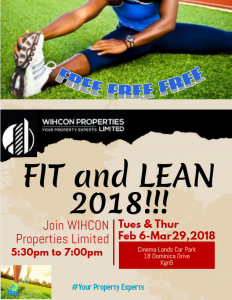 WPL Fit and Lean 2018